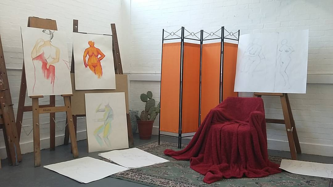 Basic Life Drawing Course: Introductory for Beginners: Book online!